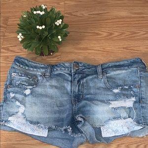 American Eagle women's jean shorts
